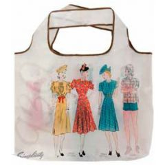 Simplicty Vintage Folding Tote 30s
