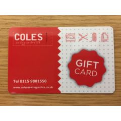 Gift Card £20.00
