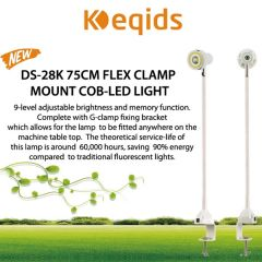 Keqids COB-LED Flex Clamp Mount Light