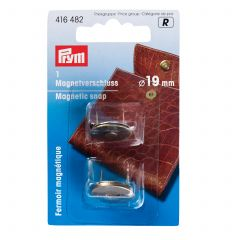 Prym Magnetic Snap 19mm Antique Brass
