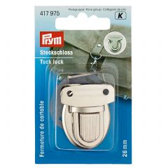 Prym Tuck Lock 26mm Antique Brass