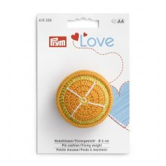 610330 Prym Pin Cushion / Fixing Weight Orange