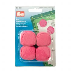 Prym Fixing Weights Mini 30mm Pink