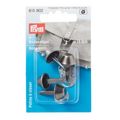 615902 Prym Bag Feet Antique Silver