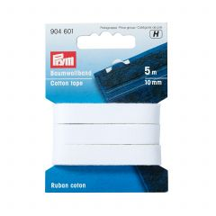Prym Cotton Tape 10mm White