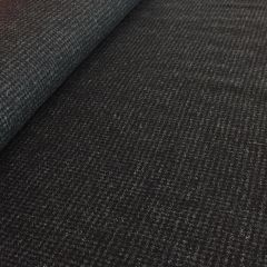 Wool Coating Check Black / Grey (24647)