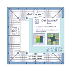 Get Squared 6.5In Outer 3.5In Inner