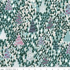 Liberty Seasons Greetings: Sparkling Forest Green