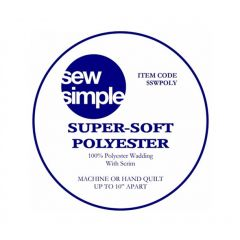 Supersoft 100% Poly Wadding