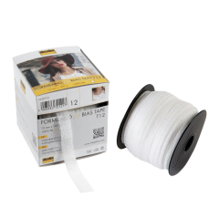 Vilene Bias Tape 12mm White