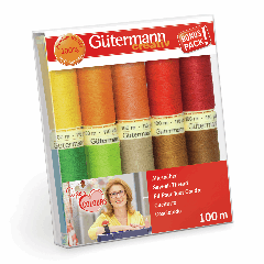 Gutermann | 10 Thread Set: Sew-All in Inge's Favourite Colours