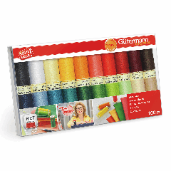 Gutermann | 20 Thread Set: Sew-All in Inge's Favourite Colours