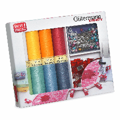 Gutermann | 8 Thread Set: Sew-All with Pins & Fabric Clips