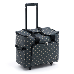 Sewing Machine Trolley Bag Charcoal Spot