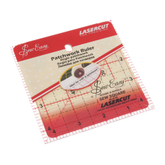 Sew Easy Patchwork Ruler 4.5 x 4.5in square