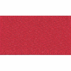Double Satin Ribbon: Red