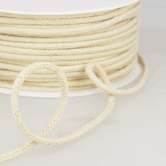 Piping Cord Natural: 4mm