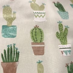 Cotton Canvas: Cactus (24884)