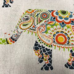 Cotton Blend Canvas: Elephants (24867)