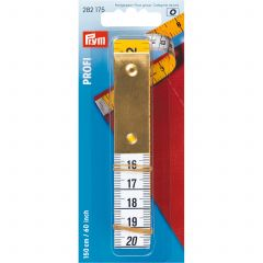 Prym Tape Measure Profi Metal Plate 150cm