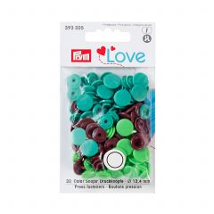 Prym Colour Snaps Green
