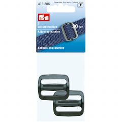 Prym Adjusting Buckles 30mm Black