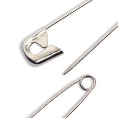 Prym Safety Pins 27mm Silver