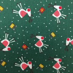 Polycotton Canvas: Rudolph (25132)