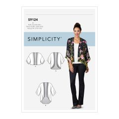 Simplicity Pattern S9124 Misses' Jackets