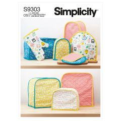 Simplicity Pattern S9303 Appliance Covers