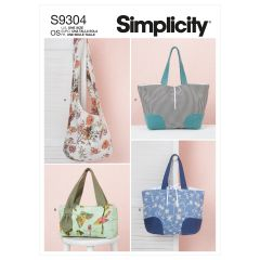 Simplicity Pattern S9304 Bags