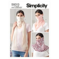 Simplicity Pattern S9313 Fashion Face Covers