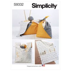 Simplicity Pattern S9332 Craft Bags