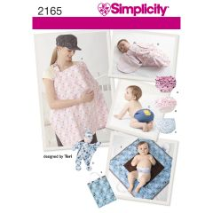 Simplicity Pattern 2165 Baby Accessories