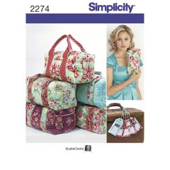Simplicity Pattern 2274 Bags