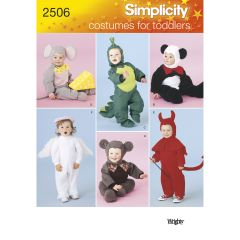 Simplicity Pattern 2506 Toddler Costumes