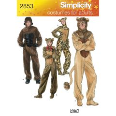 Simplicity Pattern 2853 Adult Costumes