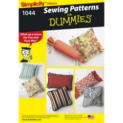 Simplicity Pattern 1044 Pillows in Various Styles