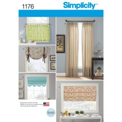 Simplicity Pattern 1176 Window Treatments