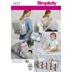 Simplicity Pattern 1177 Accessories for Babies