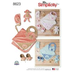 Simplicity Pattern 8623 Baby Accessories