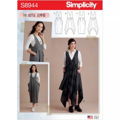 Simplicity Pattern S8944 Misses` Jumpers