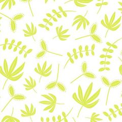 Hand Stitched: Plants Chartreuse (25262)