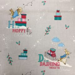 Peter Rabbit Christmas - Letters Grey (25111)