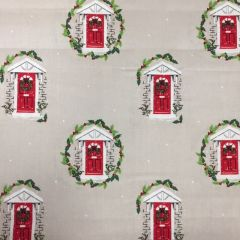 Traditional Christmas - Red Doors (25108)