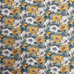 Regency Cotton Lawn Floral Yellow (24715)