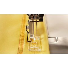 S21/S25 Clear Coverstitch Foot