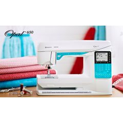 OPAL™ 650 Pre owned Computer Sewing Machine